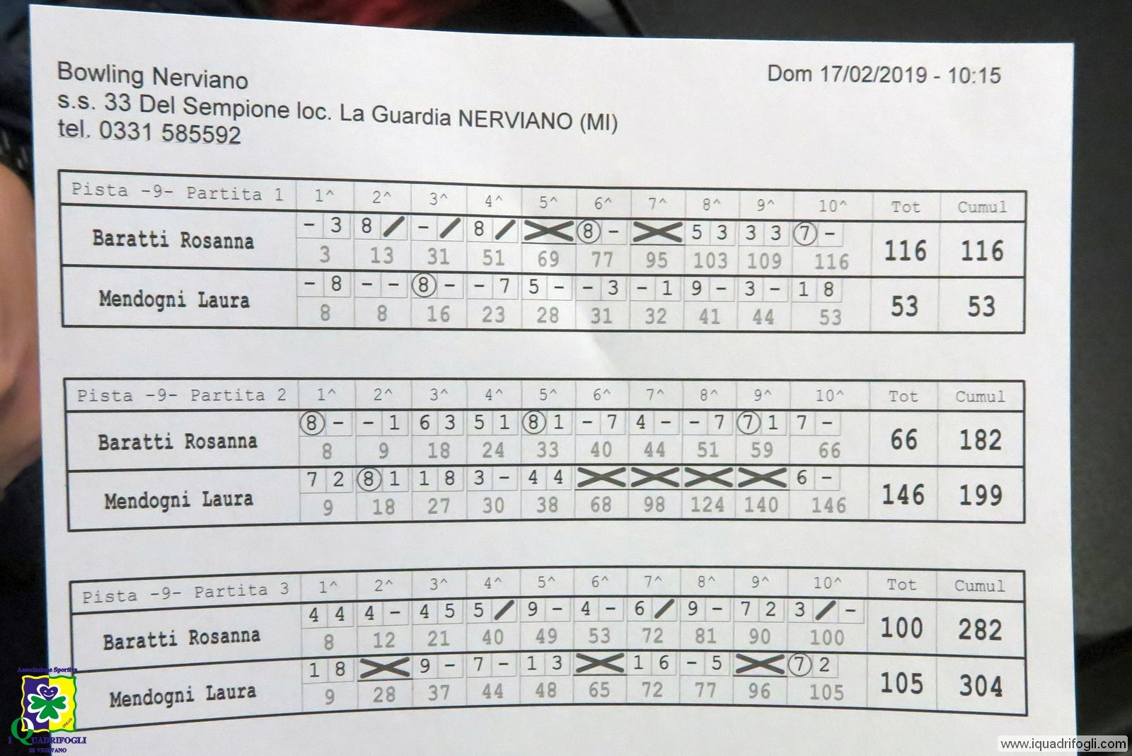 Bowling Nerviano 2019 - Regionali - 134