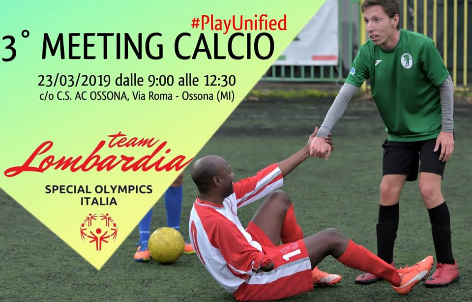 3° Meeting regionale Calcio a 5 Unificato SOI- Ossona