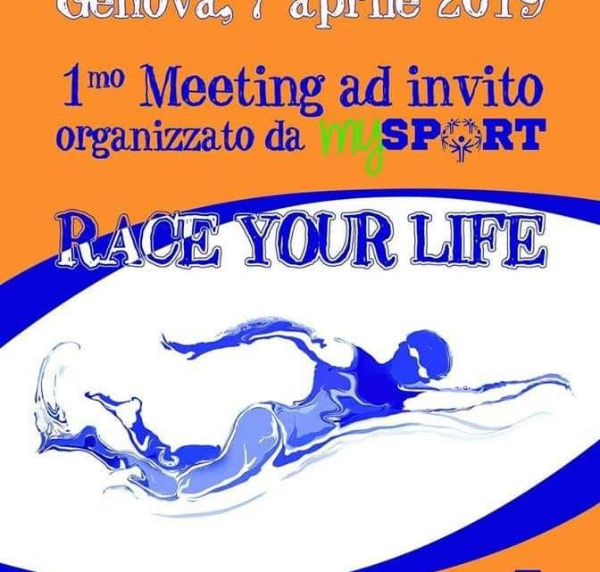 "Meeting di Nuoto SOI ""Race your life""- Genova"